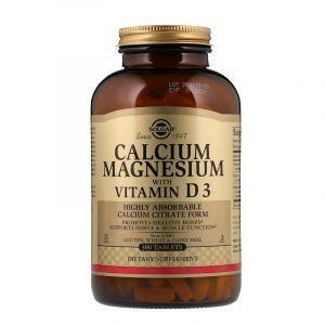 Кальций и магний (Calcium Magnesium), Solgar, 300 таблеток (Default)