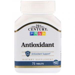 Антиоксидант, Antioxidant, 21st Century, 75 таб. (Default)