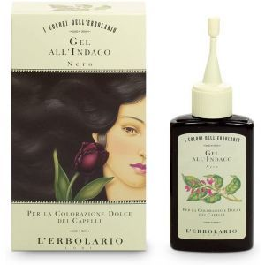 """Красящий гель для волос """"Черный"""", Gel Al Indaco, L'Erbolario, 70 мл"""
