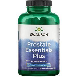Поддержка простаты, Prostate Essentials Plus, Swanson, 180 вегетарианских капсул