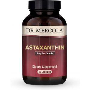 Астаксантин, Astaxanthin, Dr. Mercola, 4 мг, 90 капсул (Default)