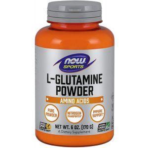 L-глютамин, L-Glutamine, Now Foods, 70 г