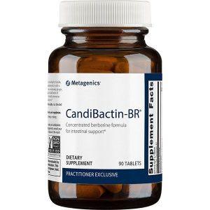 Детоксикация печени и желчного пузыря, Кандибактин БР, Candibactin-BR, Metagenics, концентрированная формула берберина, 90 таблеток
