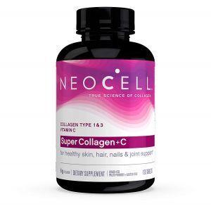 Супер Коллаген, Тип 1 и 3, Collagen+C, Neocell, 6000 мг, 120 таблеток (Default)