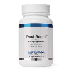 Поддержка сна, Rest Reset, Douglas Laboratories, 30 капсул