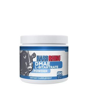 Диметиламиноэтанол L-битартрат, DMAE L-Bitartrate, Hard Rhino, порошок, 250 грамм