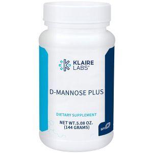 D-Манноза с клюквой и витамином С, D-Mannose Plus, Klaire Labs, порошок, 144 г