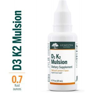 Витамин Д3 и К2, D3-K2 Mulsion, Genestra Brands, цитрусовый вкус, 20 мл