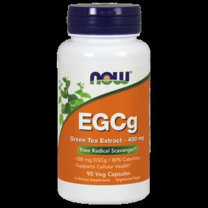 Зеленый чай EGCg (Green Tea), экстракт, Now Foods, 400 мг, 90 кап