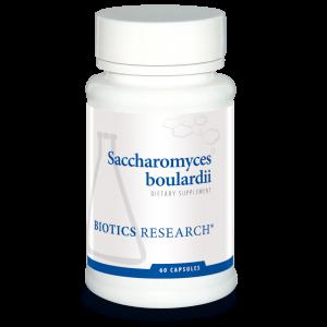 Сахаромицеты Буларди, Saccharomyces boulardii, Biotics Research, 60 капсул