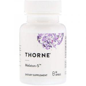 Мелатонин-5, Melaton-5, Thorne Research, 60 кап. (Default)