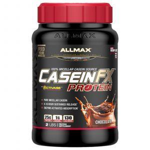 Мицеллярный казеин, CaseinFX, ALLMAX Nutrition, шоколад, 907 г (Default)