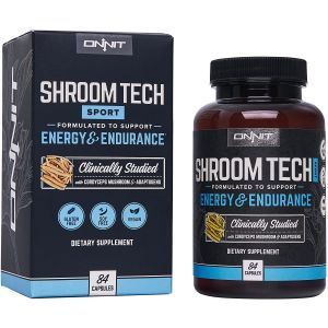 Поддержка энергии и выносливости, Shroom TECH Sport, Onnit, 84 капсул