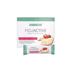 FiguActive протеиновый батончик для контроля веса, LR Lifetakt, со вкусом клубничный йогурт, набор из 6 шт
