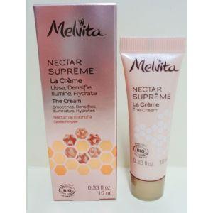 Крем для лица, Nectar Supreme The Cream Smoothes, Melvita, 10 мл
