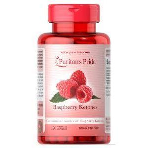 Кетон малины, Raspberry Ketones, Puritan's Pride, 100 мг, 120 капсул