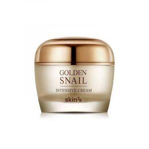 Крем для лица с золотом и муцином улитки, Golden Snail Intensive Cream, Skin79, 50 мл