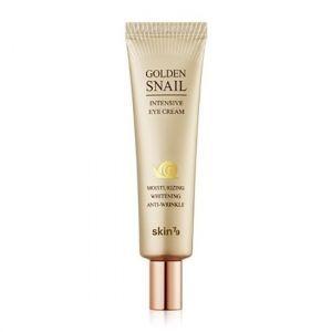 Крем для глаз с золотом и муцином улитки, Golden Snail Intensive Eye Cream, Skin79, 35 мл