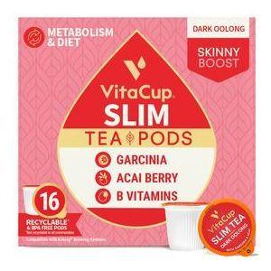 Чай с гарцинией камбоджийской и асаи, Slim Tea Bags, VitaCup, 14 шт