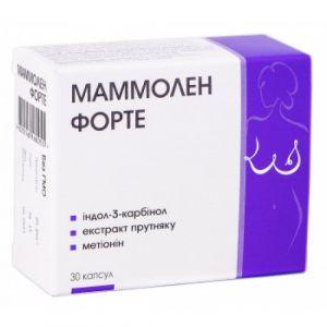 Маммолен Форте, женское здоровье, Nutrimed, 400 мг, 30 капсул