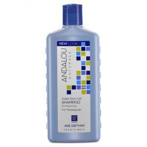 Шампунь с арганой для истонченных волос, Shampoo, Andalou Naturals, 340
