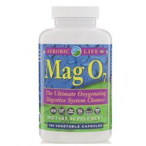 Средство для очистки пищеварительной системы, Oxygenating Digestive System Cleanser, Aerobic Life, 180 кап.