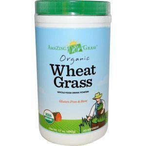 Пророщенная пшеница, Amazing Grass, 480 гр