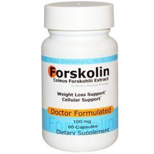 Форсколин, Advance Physician Formulas, 100 мг, 60 капсул