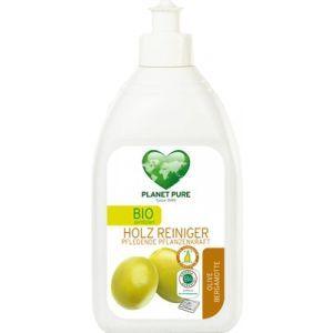 Средство для чистки поверхностей из дерева «Олива и бергамот», Bio Wood Cleaner Olive Bergamot, Planet Pure, 510 мл
