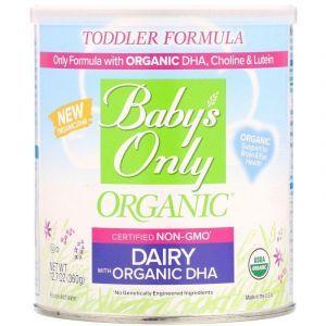 Молочная детская смесь, Baby's Only, Nature's One, с органической ДГК, 360 г