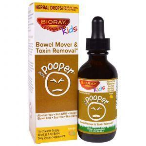Очищение кишечника и вывод токсинов, Bowel Mover & Toxin Removal, Bioray Inc., 60 мл