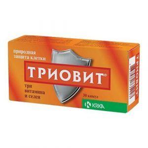 Триовит, Triovit, Krka, 30 капсул