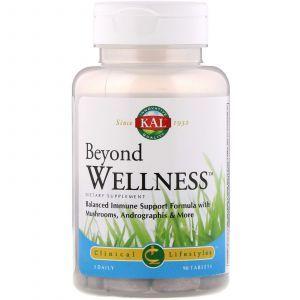 Андрографис, имунная поддержка, Beyond Wellness, KAL, 90 таблеток