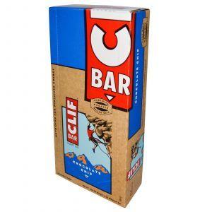 Энергетические батончики с шоколадной стружкой, Energy Bar, Clif Bar, 12 бат.