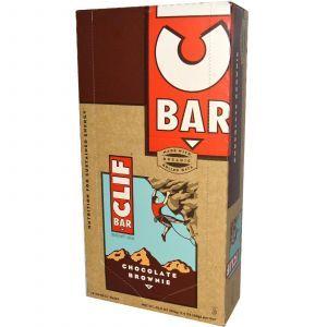 Энергетические шоколадные батончики с геркулесом, Energy Bar, Clif Bar, 12 бат.