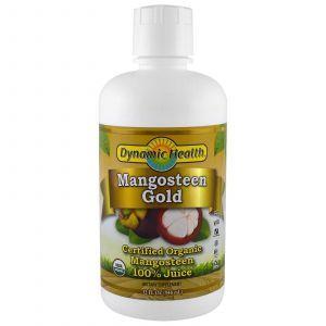 Сок мангостина, Mangosteen, Dynamic Health, органик, 946 м