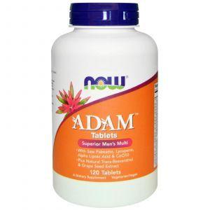 Витаминный комплекс Адам (Adam, Men's Multi), Now Foods, 120 табле