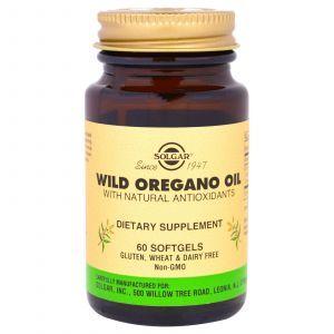 Масло орегано (Wild Oregano Oil), Solgar, 60 кап