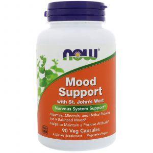 Поддержка настроения, Mood Support, Now Foods, 90 капс