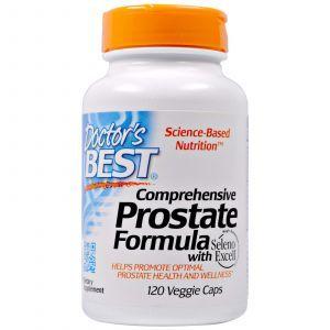 Здоровье простаты, Prostate Formula, Doctor's Best, 120 капсу