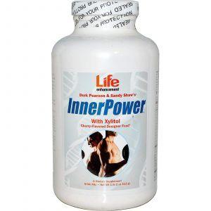 Комплекс с L-аргинином на основе ксилита (Power with Xylitol), вишня, Life Enhancement, 513