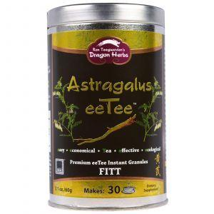 Растворимый чай из Астрагала, Astragalus eeTee, Dragon Herbs, 75 г