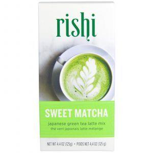 Зеленый чай матча, Sweet Matcha, Rishi Tea, смесь, 125