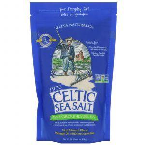 Морская соль, Vital Mineral Blend, Celtic Sea Salt, 454 г