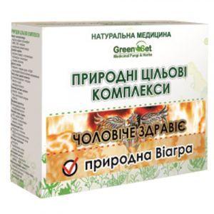 Естественная Виагра - естественный половой стимулятор, GreenSet, природный целевой комплекс, курс 1, растительные препараты, 4 шт