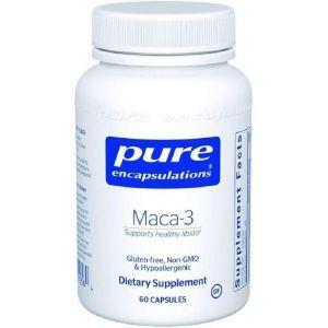 Мака-3, Maca-3, Pure Encapsulations, 60 капсул