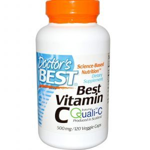 Витамин С, Doctor's Best, 500 мг, 120 капсул