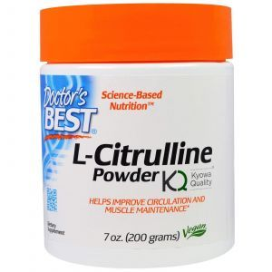 L-цитруллин, (L-Citrulline Powder), Doctor's Best, 200 г
