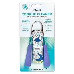 Скребок для языка, Tongue Cleaner, Dr. Tung's, 1 шт.