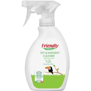 Очищающее средство для детской комнаты и игрушек, Toy & Nursery Cleaner, Friendly Organic, органическое, без запаха, 250 мл